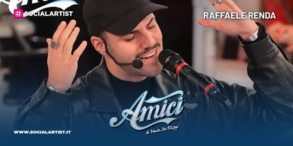Amici 20, la scheda del cantautore Raffaele