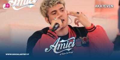 Amici 20, la scheda del cantautore AKA7EVEN