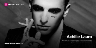 """Achille Lauro, dal 4 dicembre il nuovo album """"1920 – Achille Lauro & The Untouchable Band"""""""