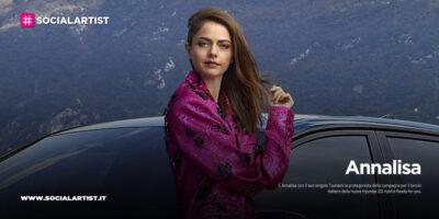 Annalisa protagonista della campagna della nuova Hyundai i20 Hybrid