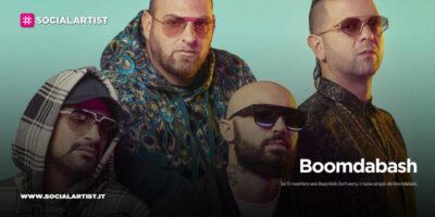 """Boomdabash, dal 13 novembre il nuovo singolo """"Don't worry"""""""