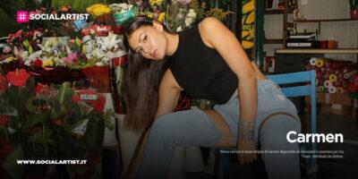 """Carmen, dal 4 novembre il nuovo singolo """"Ninna Nanna"""""""
