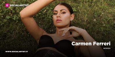 """INTERVISTA Carmen Ferreri: """"Voglio mandare un messaggio: abbattiamo le barriere andiamo oltre"""""""