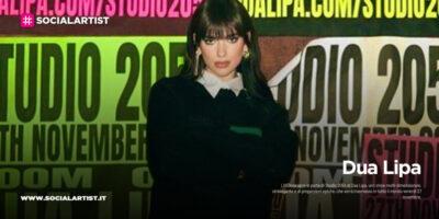 """Dua Lipa, il 27 novembre LIVENow apre le porte di """"Studio 2054"""""""