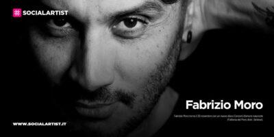 """Fabrizio Moro, dal 20 novembre il nuovo album """"Canzoni d'amore nascoste"""""""