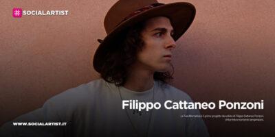 """Filippo Cattaneo Ponzoni, dal 6 novembre il nuovo album """"La tua alternativa"""""""