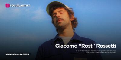 """Giacomo """"Rost"""" Rossetti, dal 27 novembre il nuovo singolo """"Mayday"""""""