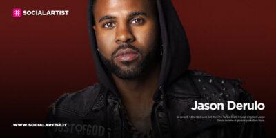 """Jason Derulo, dal 4 dicembre il nuovo singolo """"Love Not War (The Tampa Beat)"""""""