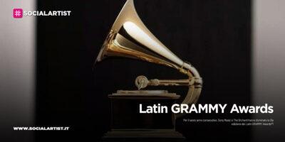 Latin GRAMMY Awards, Sony Music domina la 21esima edizione