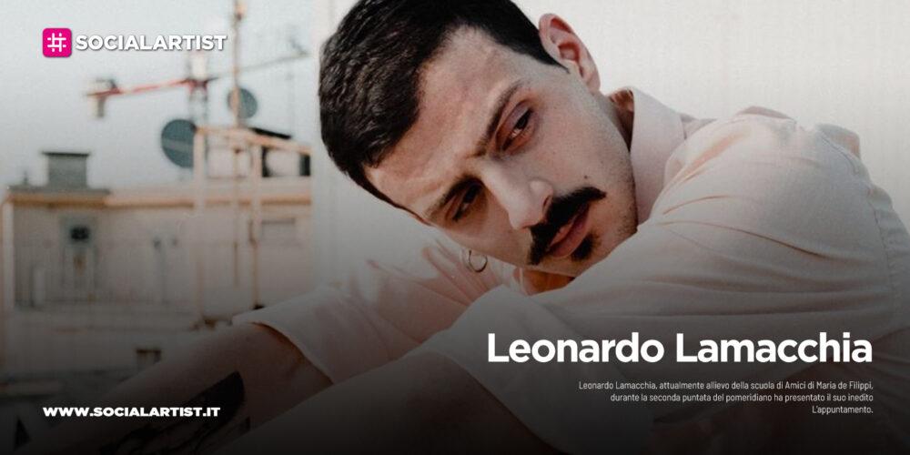 "Leonardo Lamacchia, l'inedito ""Giganti"""