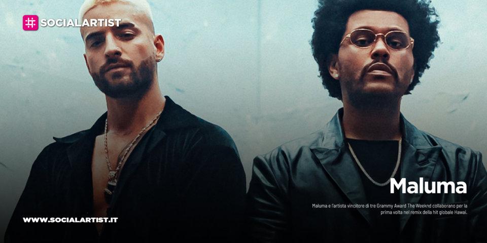 "Maluma, dal 13 novembre il nuovo singolo ""Hawài"" feat. The Weeknd"