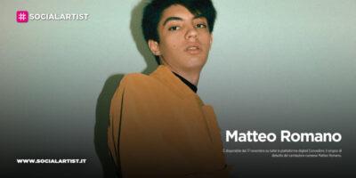 """Matteo Romano, dal 17 novembre il nuovo singolo """"Concedimi"""""""