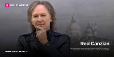 """Red Canzian, le date del """"Casanova Opera Pop"""""""