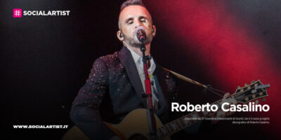 """Roberto Casalino, dal 27 novembre il nuovo album """"Il fabbricante di ricordi Live"""""""