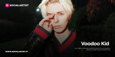 "Voodoo Kid, dal 20 novembre il nuovo album ""amor, requiem"""