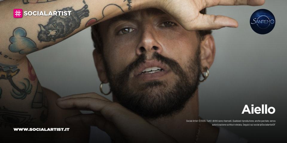 """Aiello, in gara a Sanremo 2021 con il brano """"Ora"""""""