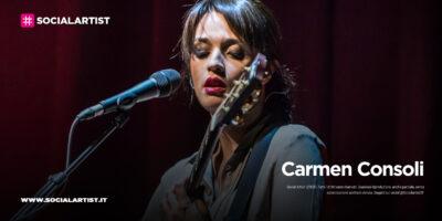 """Carmen Consoli, il nuovo album """"Volevo fare la rockstar"""""""