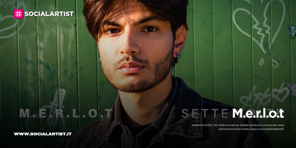 """M.e.r.l.o.t, in gara a Sanremo Giovani con il nuovo singolo """"Sette volte"""""""