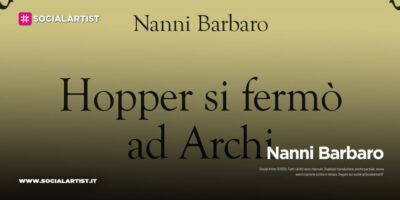 """eCampus, il libro di Nanni Barbaro """"HOPPER SI FERMO' AD ARCHI"""""""