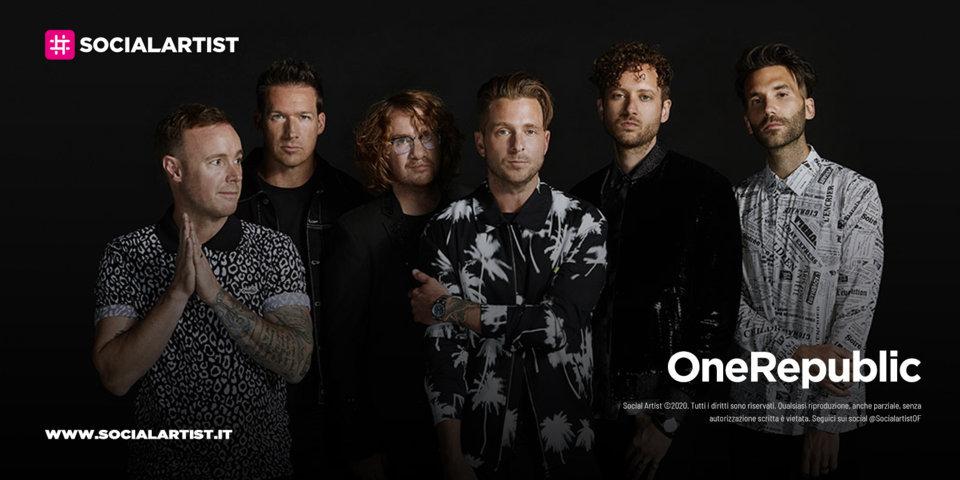 OneRepublic, le date del tour 2022