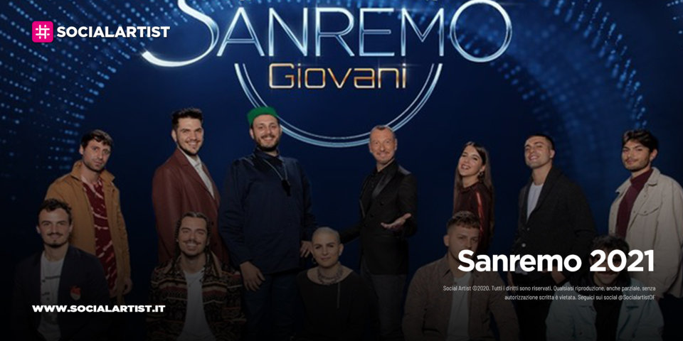 Sanremo 2021, giovedì 17 dicembre la finale di Sanremo Giovani
