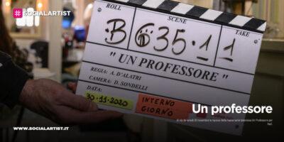 Un professore, al via le riprese della serie prodotta da Banijay Studios Italy per Rai1
