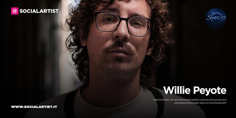 """Willie Peyote, in gara a Sanremo 2021 con il brano """"Mai dire Mai (la locura)"""""""