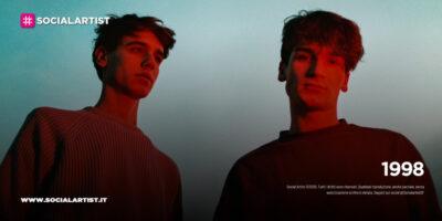 """1998, dal 22 gennaio il nuovo singolo """"Ferite (Mi abbandoni)"""""""