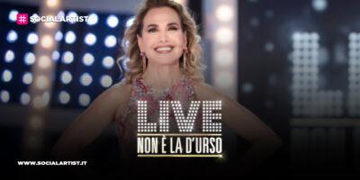 LIVE – Non è la d'Urso, la ventesima puntata in onda il 7 marzo