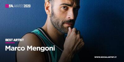 """SA Awards 2020, va a Marco Mengoni il premio di """"Best Artist"""""""