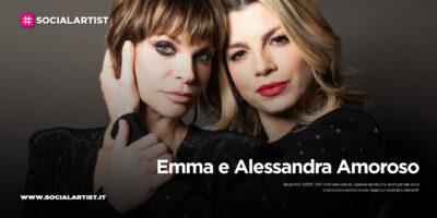 """Emma e Alessandra Amoroso, la conferenza stampa di """"Pezzo di cuore"""""""