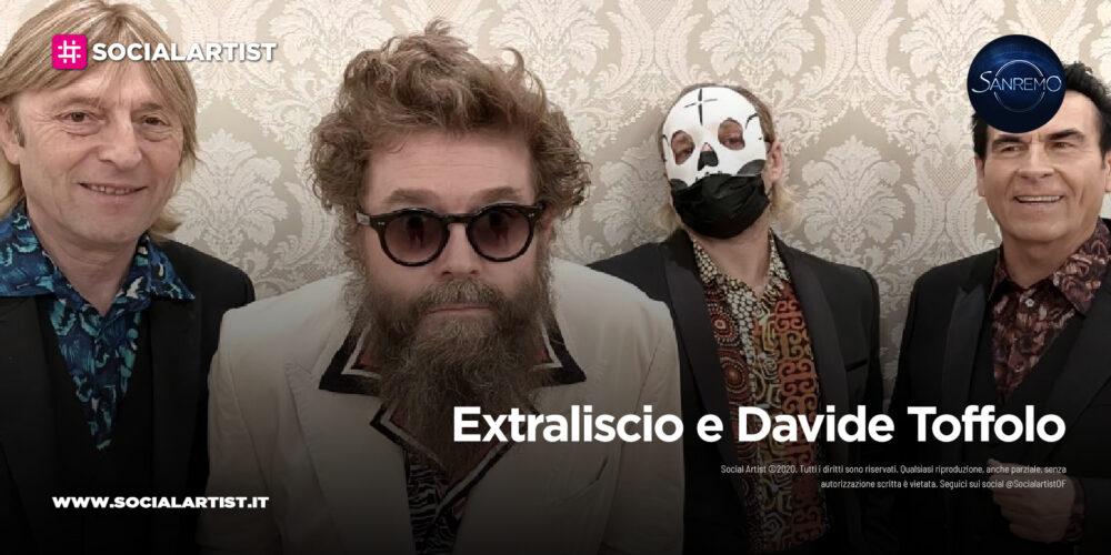 """Extraliscio e Davide Toffolo, in gara a Sanremo 2021 con il brano """"Bianca Luce Nera"""""""