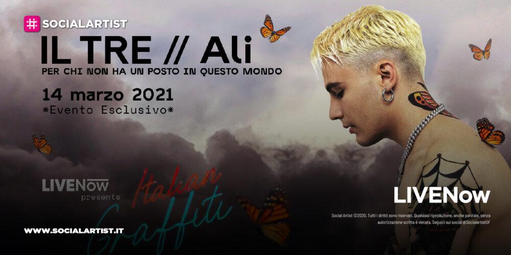 LIVENow Italian Graffiti – domenica 14 marzo lo show di Il Tre