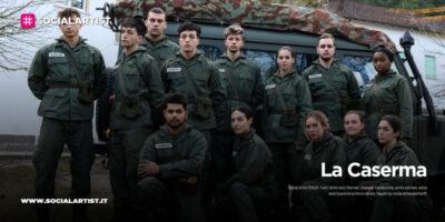 La Caserma, mercoledì 27 gennaio la prima puntata
