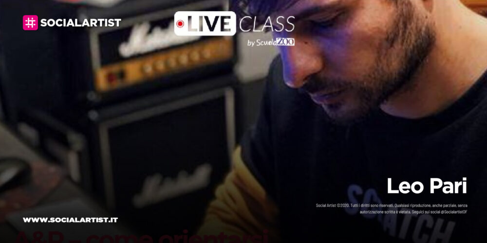 Warner Chappell Music e SCUOLAZOO presentano liveclass urban-pop songwriting
