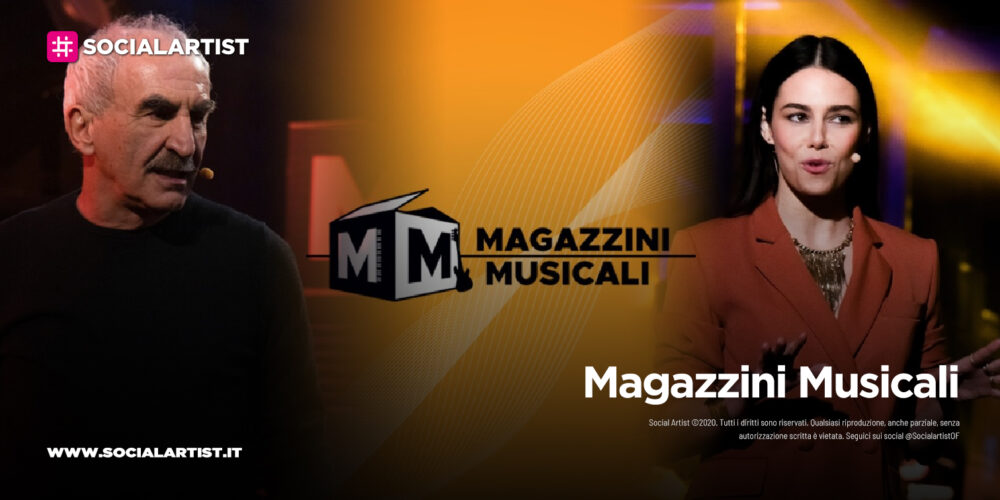 Magazzini Musicali, la terza puntata il 16 gennaio