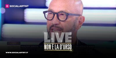 """LIVE – Non è la d'Urso, Walter Zenga: """"Nicolò dice delle cose non vere"""""""