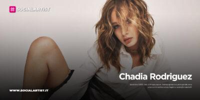 """Chadia Rodriguez, dal 16 aprile il nuovo singolo """"Non mi uccidere"""""""