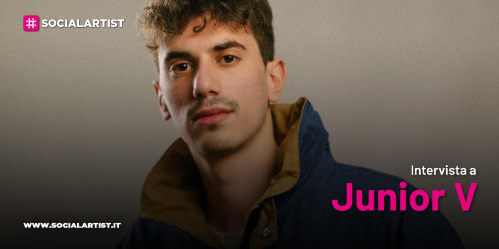 """VIDEOINTERVISTA Junior V, il nuovo album """"Sconosciuti che conoscono l'amore"""""""