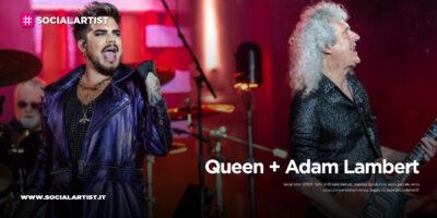 Queen + Adam Lambert, le date italiane del tour 2021