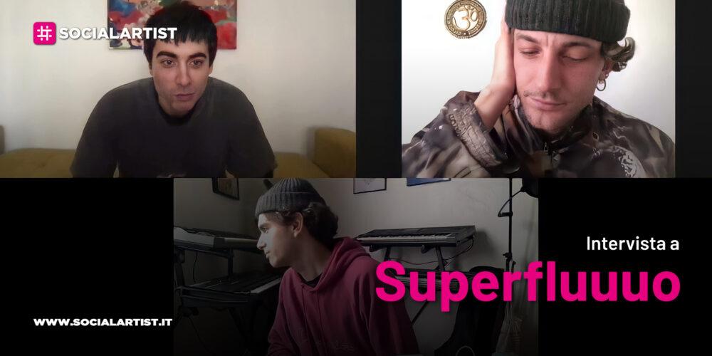 """VIDEOINTERVISTA Superfluuuo, il nuovo album """"Discolo"""""""