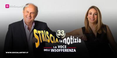 Striscia la Notizia, dall'8 marzo torna la coppia formata da Gerry Scotti e Francesca Manzini