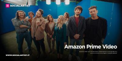 Amazon Prime Video – il backstage dello spot con i grandi volti degli show italiani