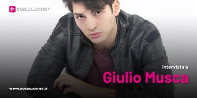 INTERVISTA Giulio Musca tra vita e musica, lavoro e passione (Amici 20)