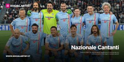La Nazionale Cantanti, in campo con la Nazionale New Dreams