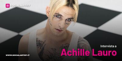 """VIDEOINTERVISTA Achille Lauro, dal 16 aprile il nuovo album """"LAURO"""""""