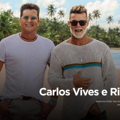 """Carlos Vives e Ricky Martin, dal 14 aprile il nuovo singolo """"Canción Bonita"""""""