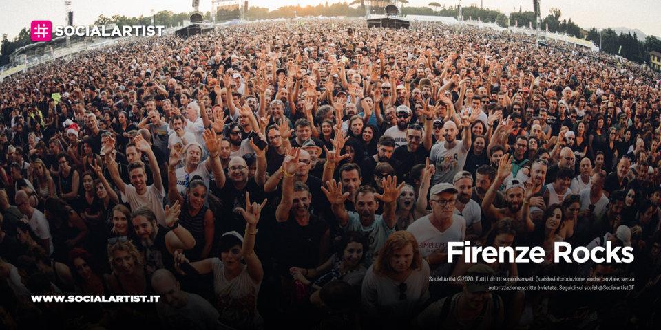 Firenze Rocks 2022, le date e il cast