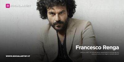 """Francesco Renga, le date del """"Acustic Trio – Estate 2021"""""""