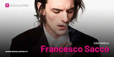 """VIDEOINTERVISTA Francesco Sacco, il nuovo singolo """"Pioggia d'aprile"""""""